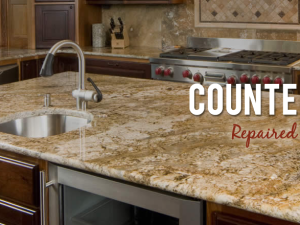 Countertop repair and protection