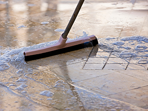 Floor refinishing services