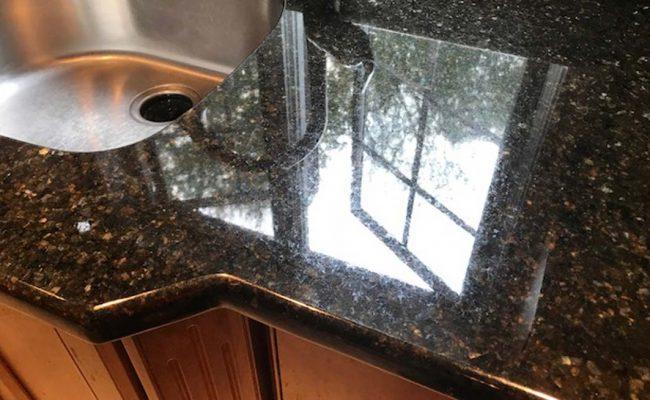Granite Countertop Refinished