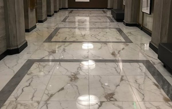 Marble Floor Beautifully Refinished