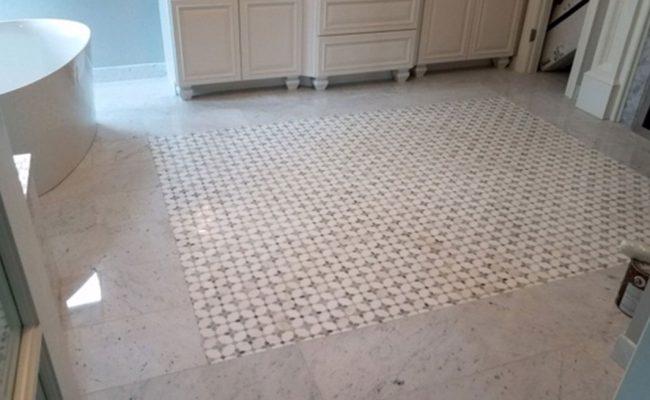 Marble Mosaic Floor Leveling