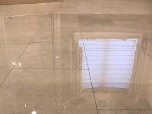 Marble Floor Flattened