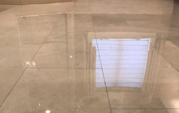 Marble Floor Repaired and Restored